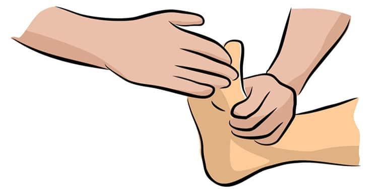 Fourmillements & paresthésie pied & jambe