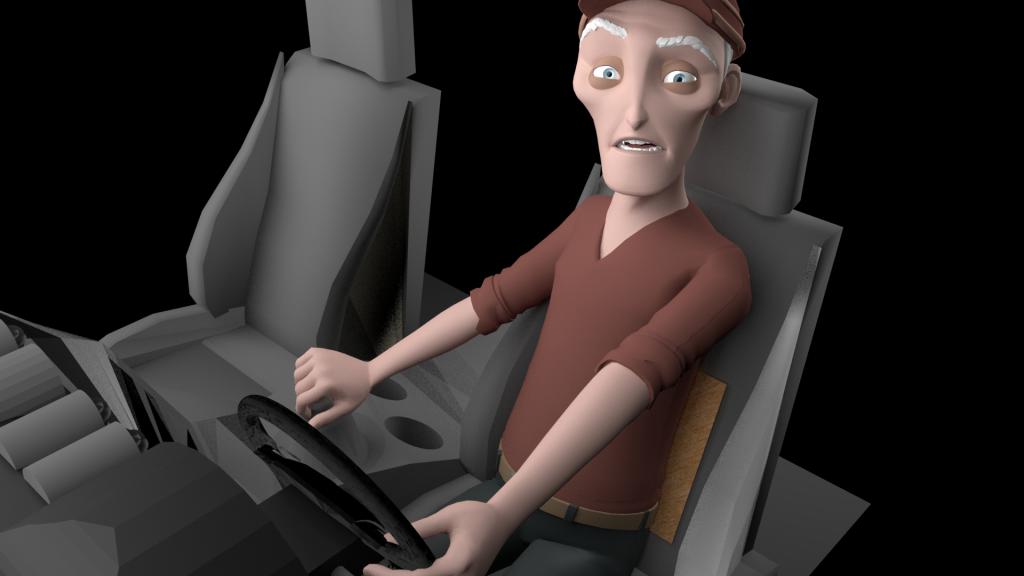 Mal de dos en voiture