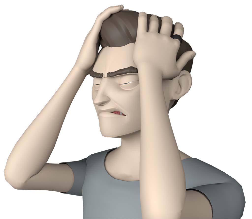 J'ai tout le temps mal de tête et des douleurs cervicales