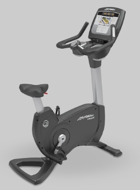 Upright bike workout machine