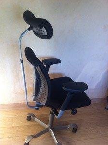 Hag H05: un siège ergonomique pour travailler assis-debout