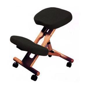siege repose genoux ergonomique accent wood mal de dos. Black Bedroom Furniture Sets. Home Design Ideas