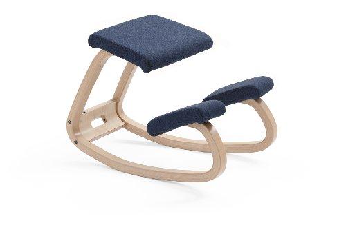 varier 101007 fauteuil variable balans gris fonc 51 x 52 cm mal de dos. Black Bedroom Furniture Sets. Home Design Ideas