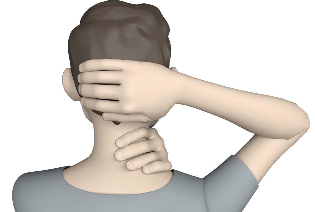 Douleur à la base du crâne