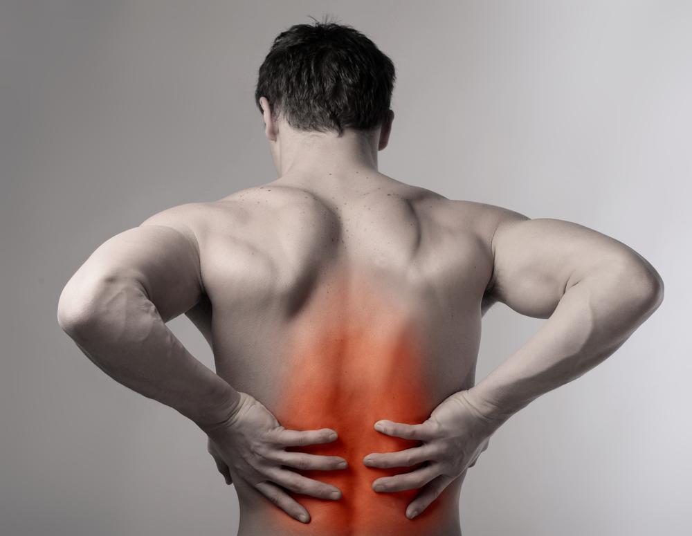 Une deuxième fois mensuelle par mois fait mal le dos