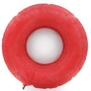Coussin rond en caoutchouc gonflable 40,6 cm pour hémorroïdes et en aide pré et postnatal