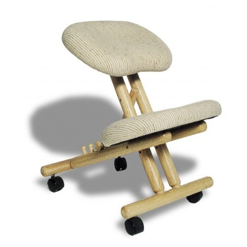 Si ge assis genoux ergonomique professionnel sans dossier for Chaise ergonomique assis genoux