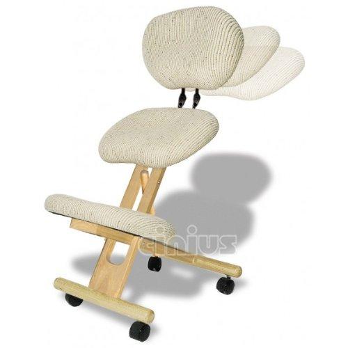 Chaise ergonomique professionnel avec dossier couleur Naturelle
