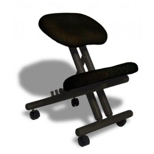 si ge assis genoux ergonomique professionnel sans dossier. Black Bedroom Furniture Sets. Home Design Ideas
