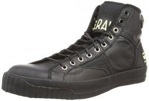 G-Star Campus Raw Scott Hi, Chaussures Multisport Outdoor homme, Noir
