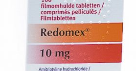 redomex 10mg antidépresseur décontractant musculaire