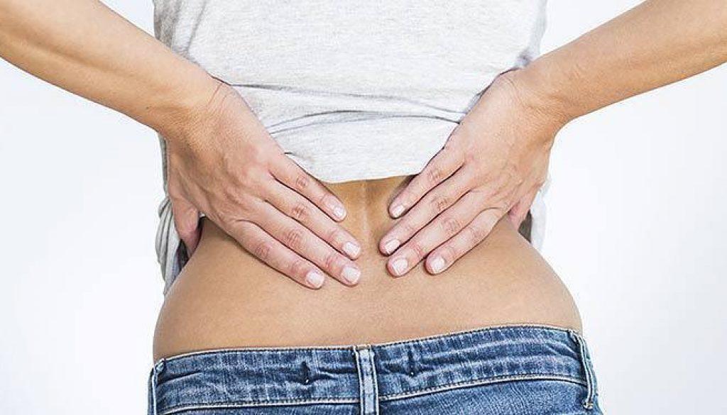 lombalgie douleur dans le bas du dos