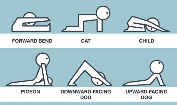 postures yoga pour le dos