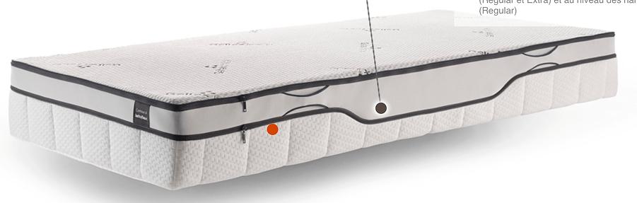 geltex inside beka swissflex lattoflex mettent du gel bleu dans leurs matelas mal au dos. Black Bedroom Furniture Sets. Home Design Ideas