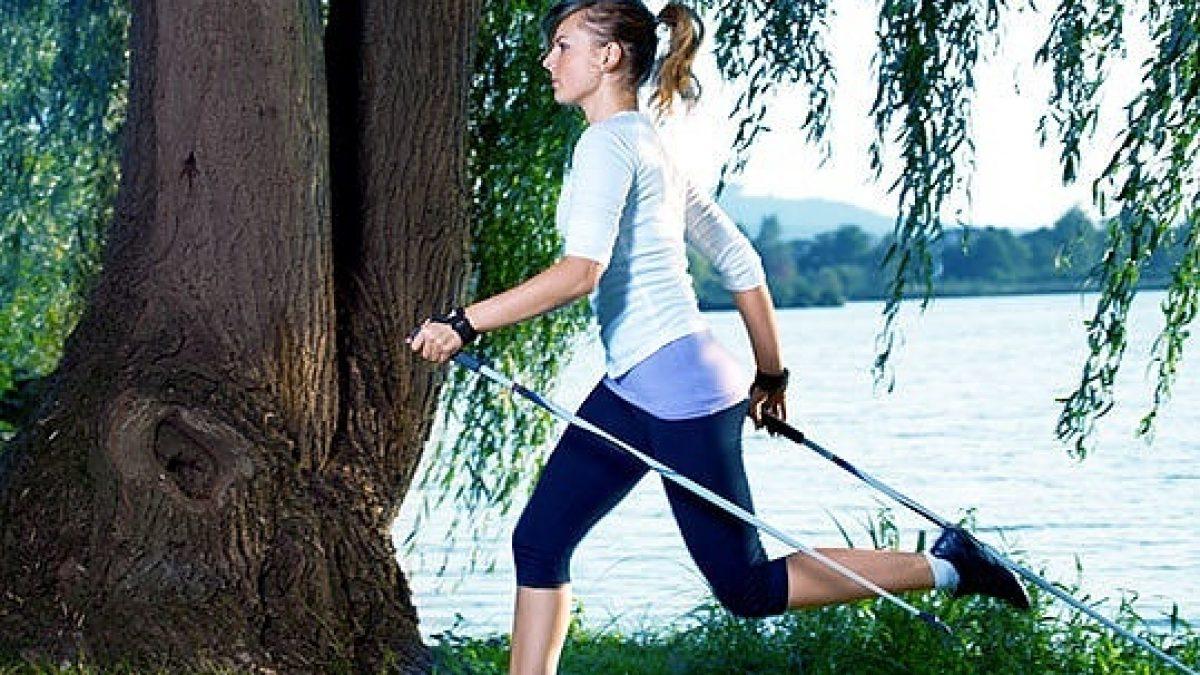 Marche nordique (nordic walking) et mal de dos