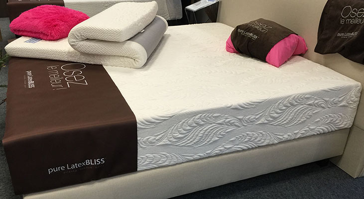 Pure latex Bliss mattress review