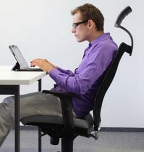 Mauvaise posture au bureau
