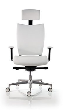 Fauteuil de direction cuir design hjh office parma 20 - Chaise de bureau ergonomique dos ...