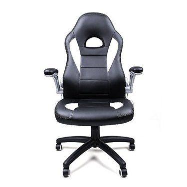 fauteuil bureau racing sport songmics