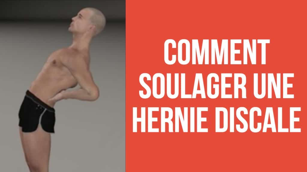 soulager hernie discale lombaire debout