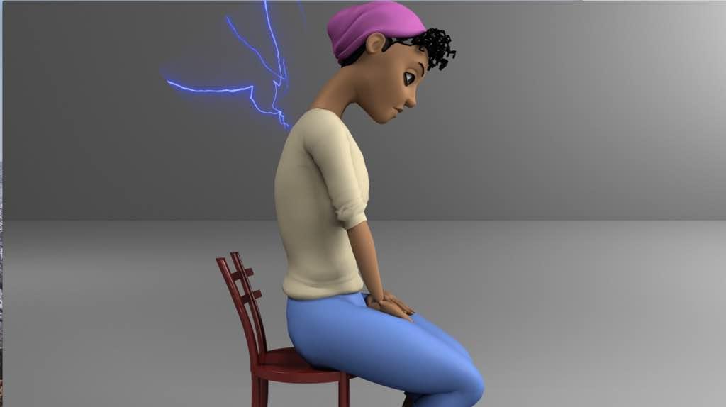 douleur haut du dos mauvaise posture assise