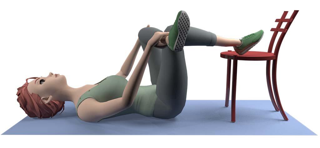 Sciatic nerve stretch step3
