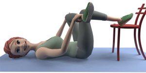 Nerf sciatique coincé: exercice
