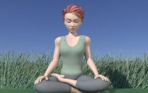 Yoga nuque épaules avec Gwen