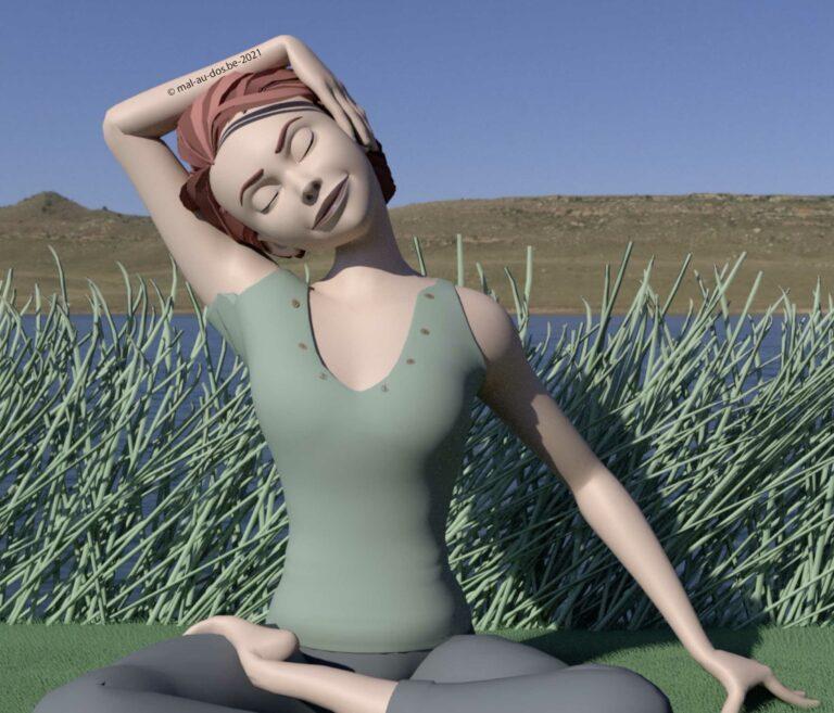 yoga nuque épaules