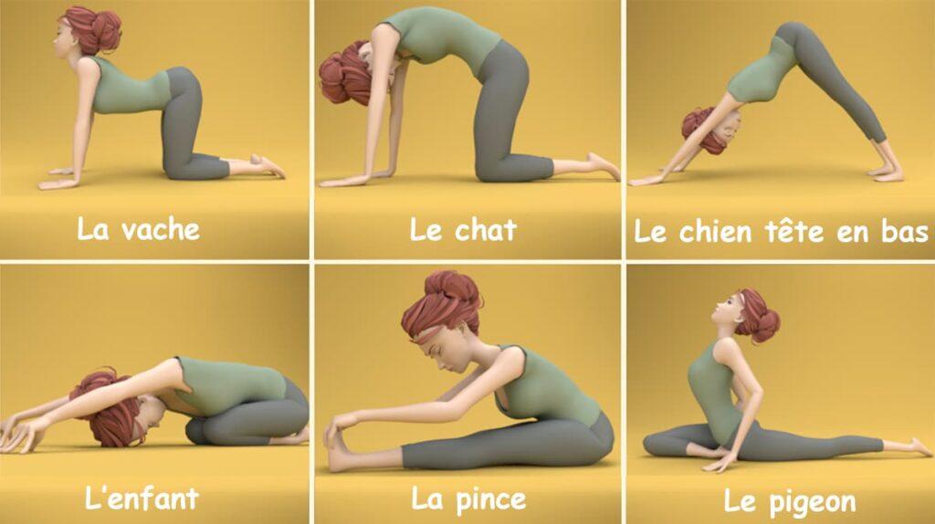 6 postures de Yoga qui feront du bien à votre dos