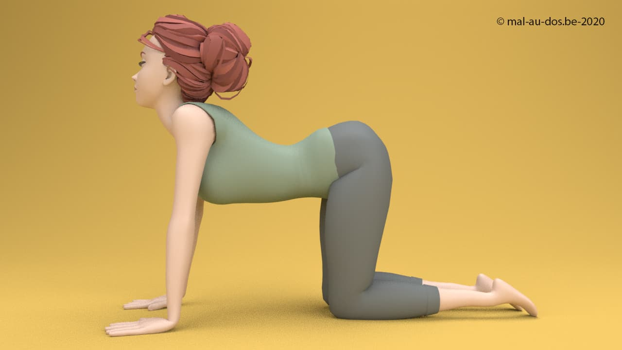 Yoga for lumbar disc herniation: the cow pose