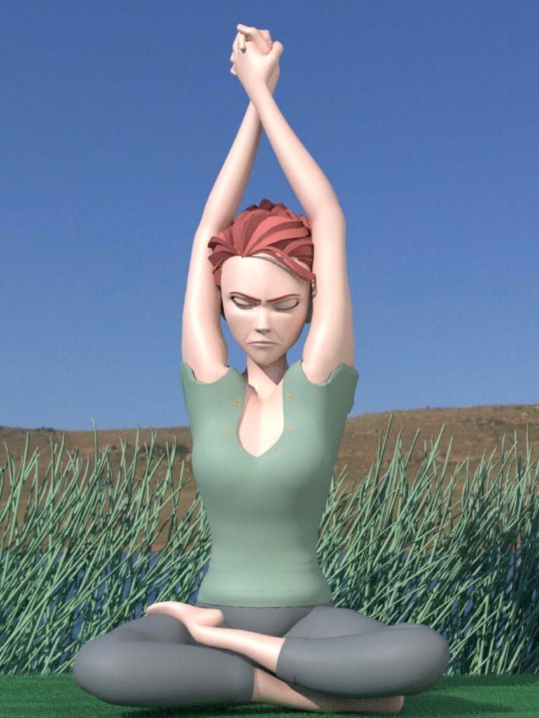 yoga nuque épaules #3