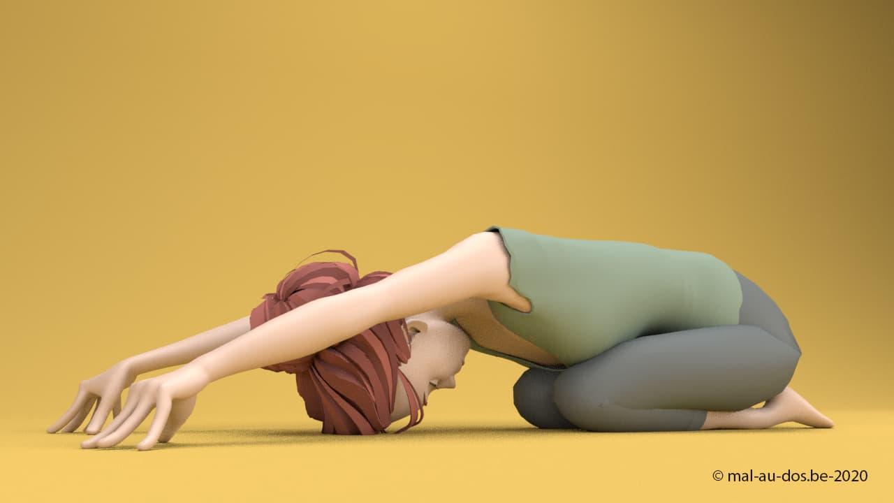 yoga child pose