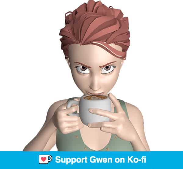 Support Gwen on Ko-fi