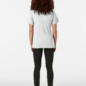 t-shirt yoga posture du chat chine femme de dos